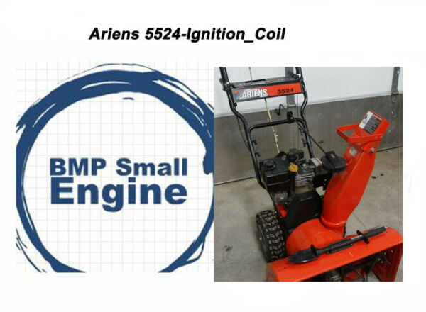 Ignition Coil Module For Ariens 5524 932047 Snow Blower Tecumseh Powered