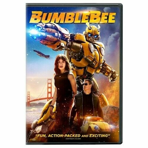 TRANSFORMERS: BUMBLEBEE (DVD 2019) New Sealed Free Shipping included!