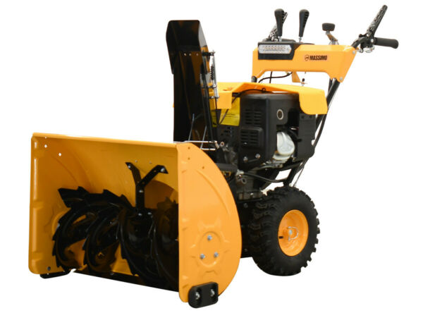 30quot; 302cc 9HP Gas Snow Blower Thrower 2 Stage Shovel Walk Behind Heavy Duty