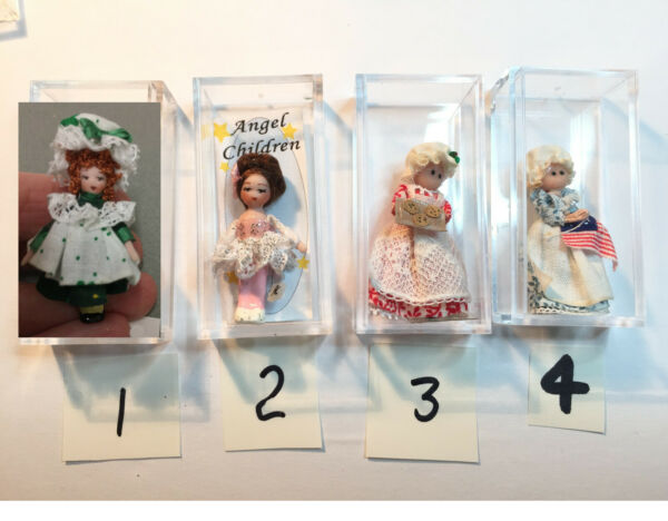 Choice Ethel Hicks Angel Children Miniature Dolls + others Ballerina Betsy Ross