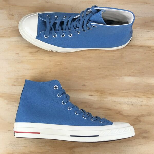 Converse Chuck Taylor 70 High Top Blue Red White USA Sneakers 160491C Size 9