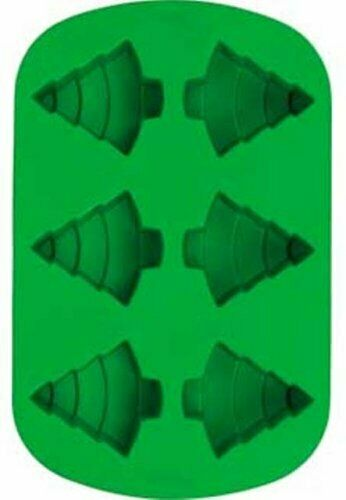 Wilton Silicone 6 Cavity CHRISTMAS TREE Mold