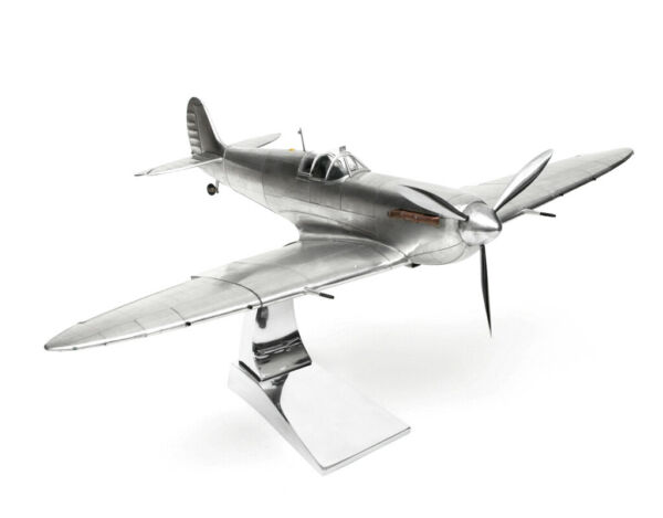 Model Aeroplane Supermarine Spitfire + Stand Attention to Detail Large the