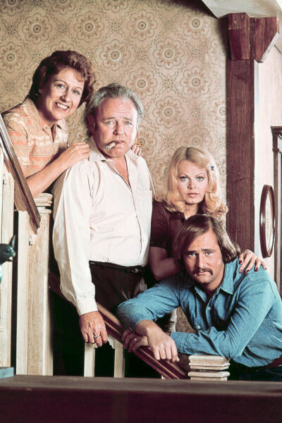 All In The Family Color Cast 24X18 Poster Print