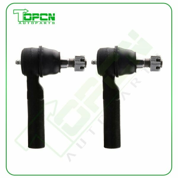 Steering 2pcs Front Outer Left & Right Tie Rod End Kit Fits 04-2006 GMC CANYON