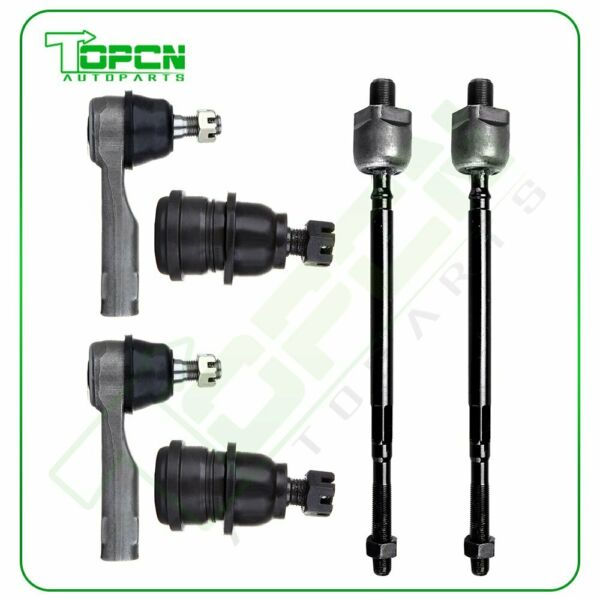 Fits Nissan Sentra Manual Steering Front Inner Outer Tie Rod Lower Ball Joint