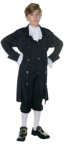 JOHN ADAMS CHILD COSTUME COLONIAL