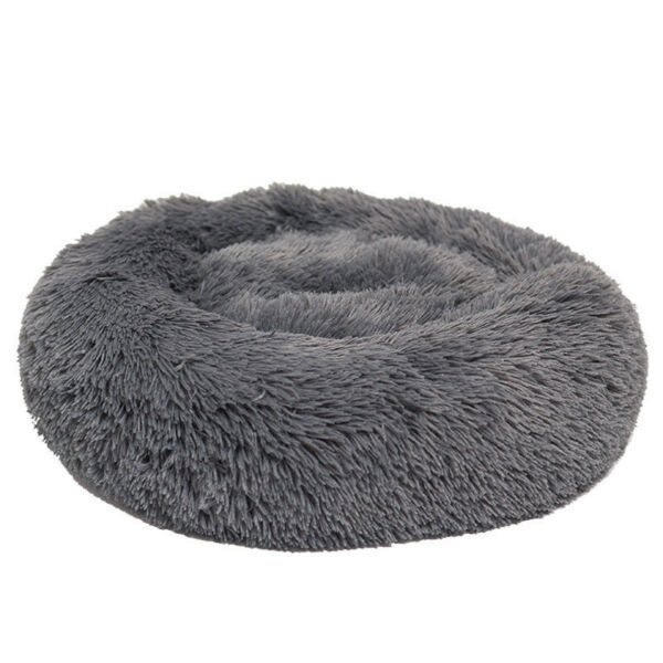 Pet Cat Dog Basket Soft Bed Met House Artificial wool for Medium large Dogs D192 $29.99
