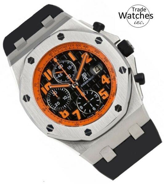 Audemars Piguet Royal Oak Offshore Volcano 26170ST.OO.D101CR.01 Wrist Watch...