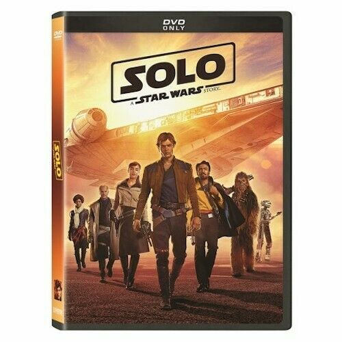 Solo: A Star Wars Story DVD Brand New Sealed Free Shipping Included