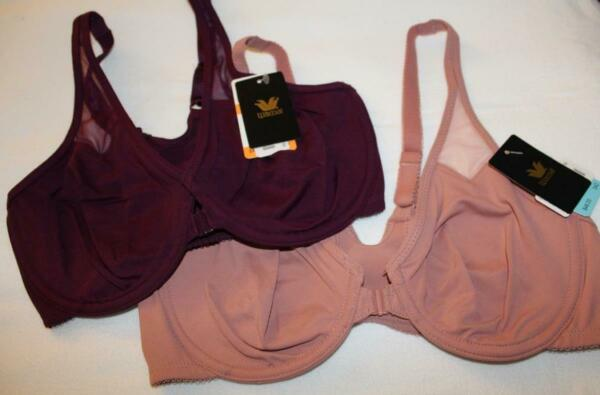 NWT bra~Body by Wacoal~racerback~front closure~T Back unlined underwire~65124