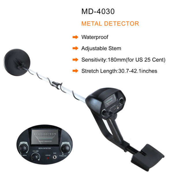 Metal Detector Gold Digger Light Hunter Deep Sensitive Search LCD Waterproof $39.98