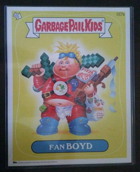 Garbage Pail Kids 2014 NYCC 6 CARDS A Edition Set RARE Jumbo Cards 11x14