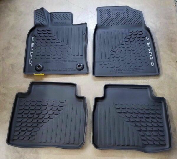OEM 2018 2019 2020 TOYOTA CAMRY ALL WEATHER FLOOR MATS  LINERS PT908-03180-20
