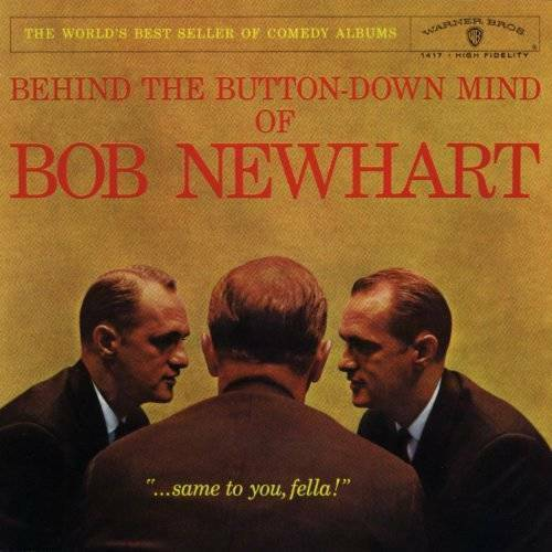 Behind the Button Down Mind of Bob Newhart Audio CD By NEWHARTBOB VERY GOOD