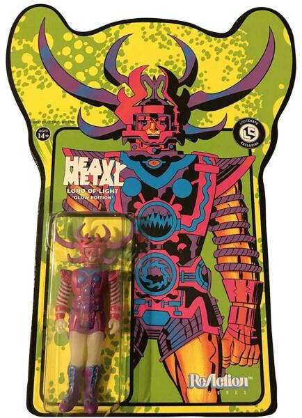 Loot Crate Exclusive Heavy Metal Lord Of Light Glow Edition Figure