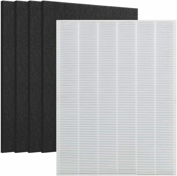 Replace for Winix 115115 Filter 4 Carbon Filters PlasmaWave Size 21 5300 5500 $18.99