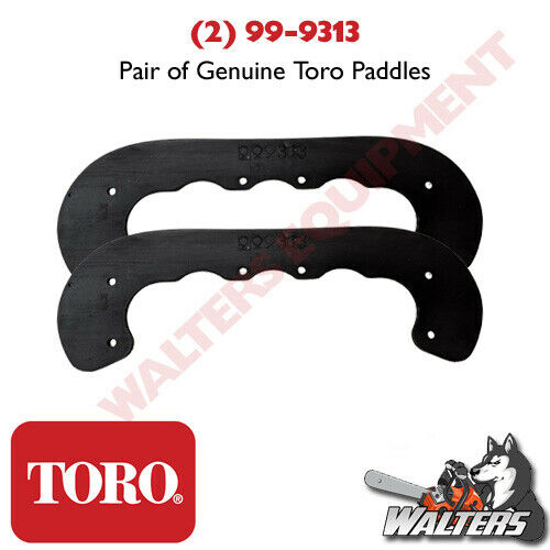 2 NEW Genuine Toro Paddles 99 9313 NOT AFTERMARKET 721 CCR