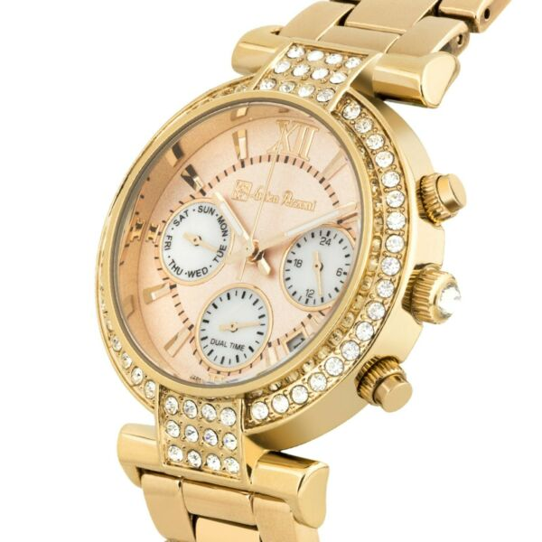 Lucien Pezzoni La Pergola Multifunction Ladies Watch Swarovski Elements Crystal