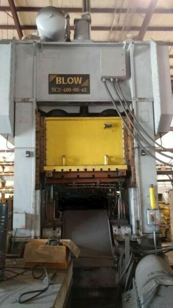 400 TON BLOW SSDC PRESS 10