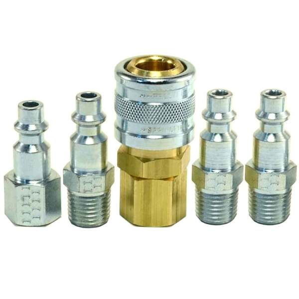 1 4quot; Air Hose Compressor Fittings Heavy Duty Construction USA MADE I M Style $15.99