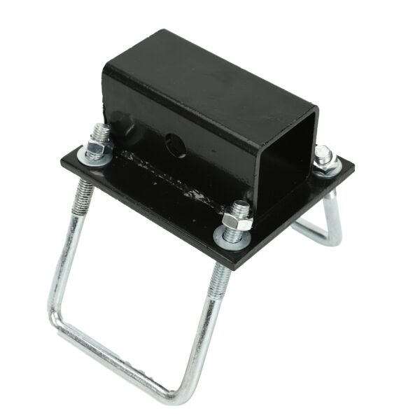 RV Bumper Receiver Adapter Mount on RV Travel Trailer Carrier Hitch $18.69