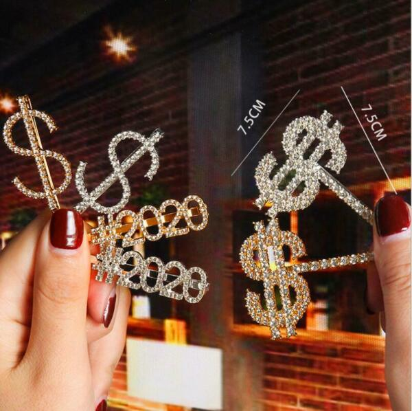 Fashion Women Crystal Bling Hair Clip Hairband Comb Bobby Pin Barrette Hairpin