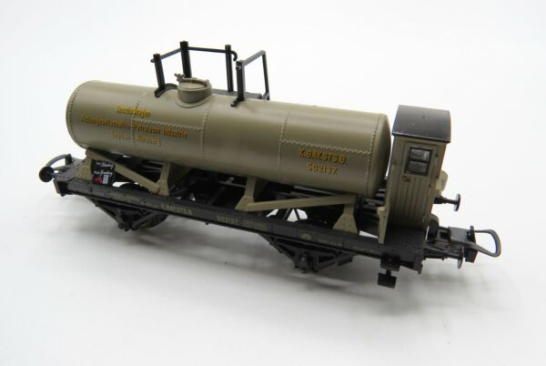 Vintage Trix HO  DC - 23617 - Green Kay B.Sts. - Tank Wagon - Good Condition