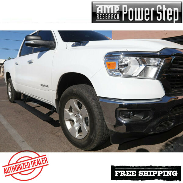 AMP Research PowerStep Plug & Play Electric Running Boards 2019-2020  Ram 1500