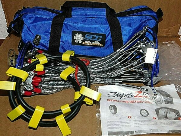 Super Z-6 Cable Tire Snow Chains Stock # SZ123 - for limited clearance - NEW