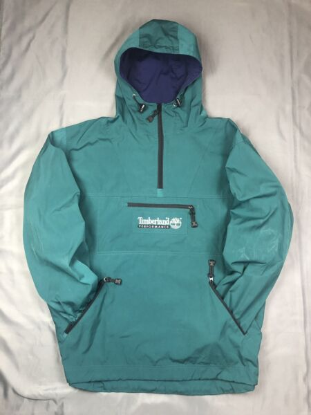 Vintage Timberland Performance Hooded Tech Pullover VTG $34.98