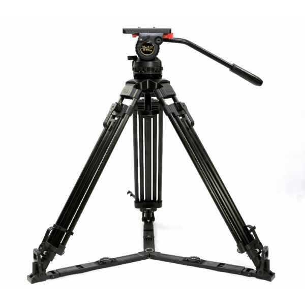 TERIS 70quot; Aluminum Video Camcorder Tripod Fluid Head 15KG Professional V15L PLUS