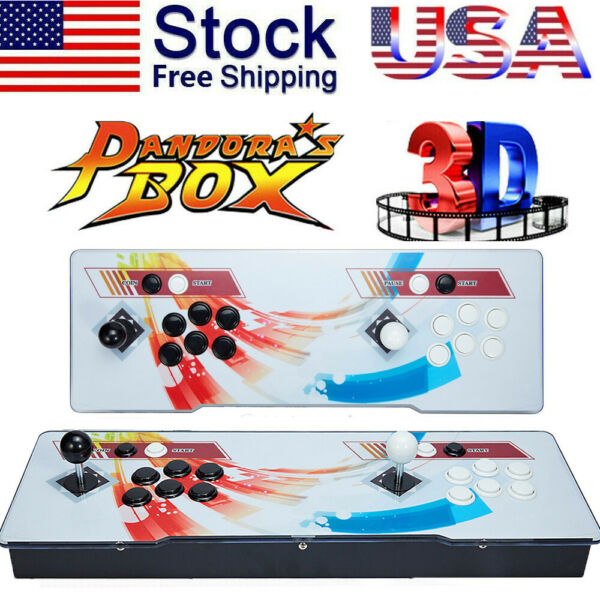2020 New Version !  Pandora's Box 12S 3188 Games 2D3D video game Double-players