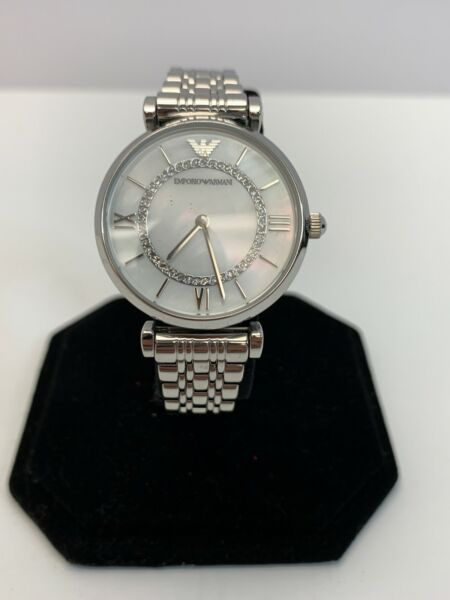 Emporio Armani AR-1908 Stainless Steel Women's SILVER Watch