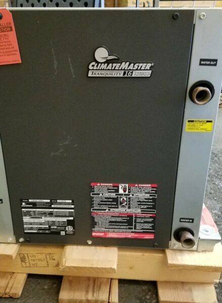 ClimateMaster 3 Ton TCH036AFC10CRSS Geothermal Heat Pump Tranquility 16 NEW $1075.50