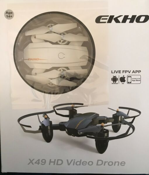 Brand new in original packaging Ekho X49 HD Video Drone (from Breo Box).