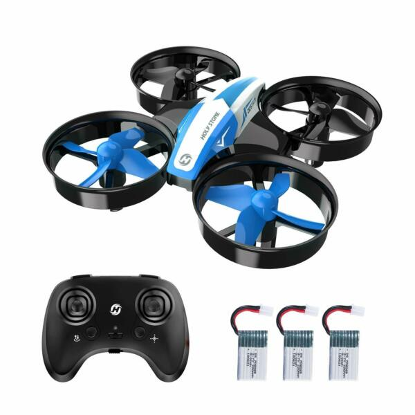 Holy Stone HS210 Mini Drone 2.4G Altitude Hold micro RC Nano Quadcopter Blue Toy