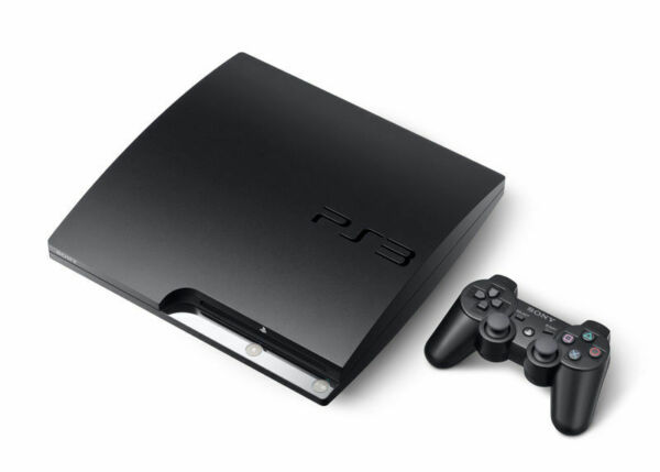 Sony PlayStation 3 PS3 Slim Charcoal Black Console