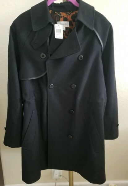 COACH CONVERTIBLE TRENCH COST 3 in 1 BOLERO WOMEN#x27;S SIZE 10 $895 NWT NEW $350.00