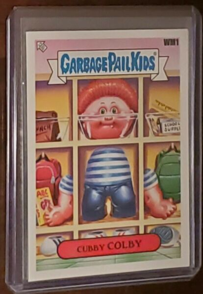 Garbage Pail Kids 2020 Late To School  Walmart Promo Card WM1 Cubby COLBY