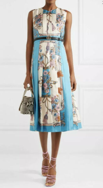 Gucci Silk Dress- With Tags- RRP$5730