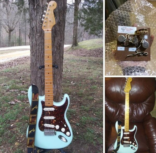 Fender Classic Seires '50s Stratocaster With Upgrades Tone Man Wiring