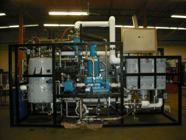 industrial parts washer - Serec vacuum solvent cleaning with chiller and distill