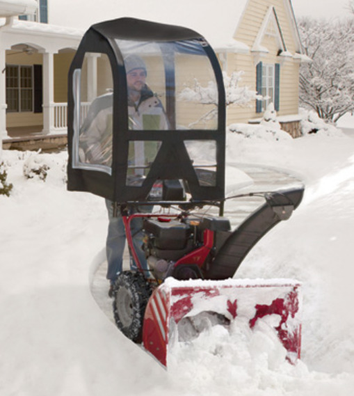 Arnold Deluxe Universal Snow Cab for 2  3-Stage Snow Blowers 490-241-0032 - New