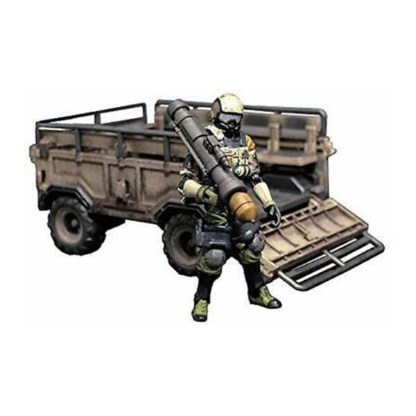 Toynami Acid Rain Sand Armored Trailer And Sergeant Military Set NEW IN STOCK $89.99