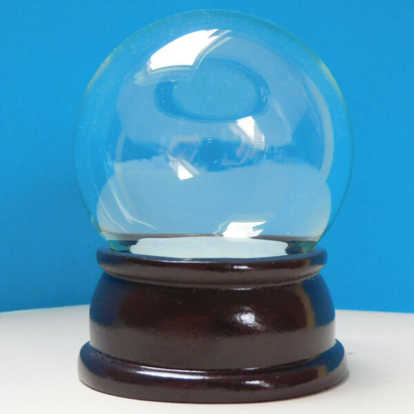 65mm Small Snow Globe Kit ideal for craft groups minor scratches