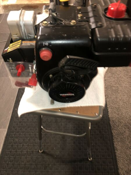 NOS Tecumseh Snow King 8.5 HP Snow Blower Engine With Lighting Coil