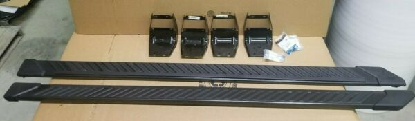 OEM 2015-2020 Ford F150 Truck Running Boards Magnetic Grey 5