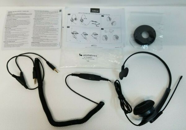 Otometrics Madsen Astera Operator Headset with Cable 8 75 69003 New
