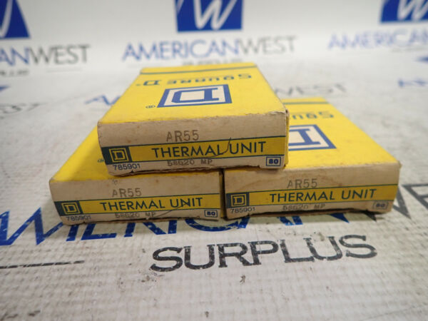 Square D AR55 Heaters *LOT OF 3 *NEW $60.00